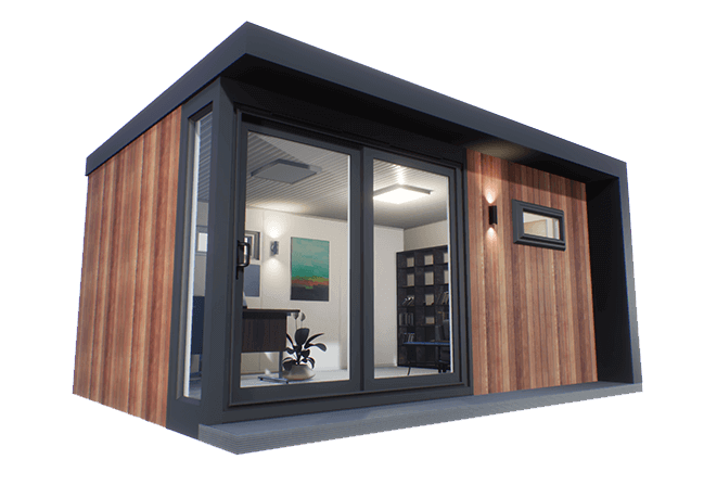 TGO3 – Sharp and Modern Garden Office
