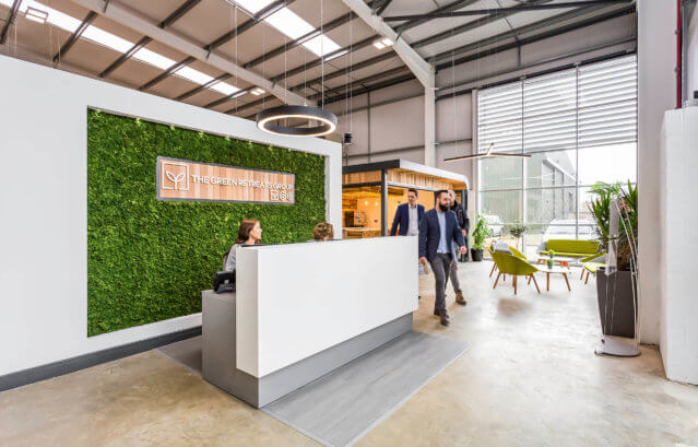 The Green Retreats Garden Office Showroom