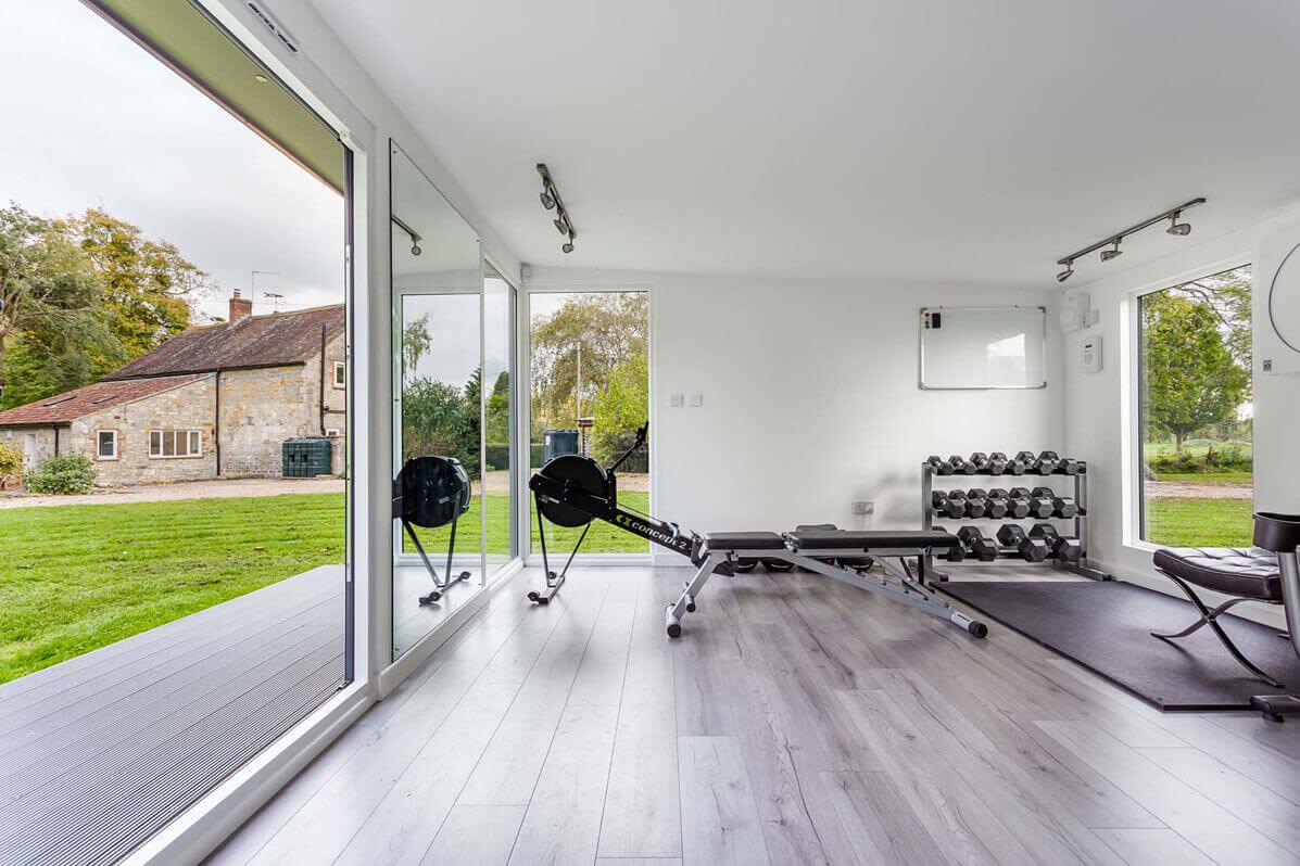 garden office gym