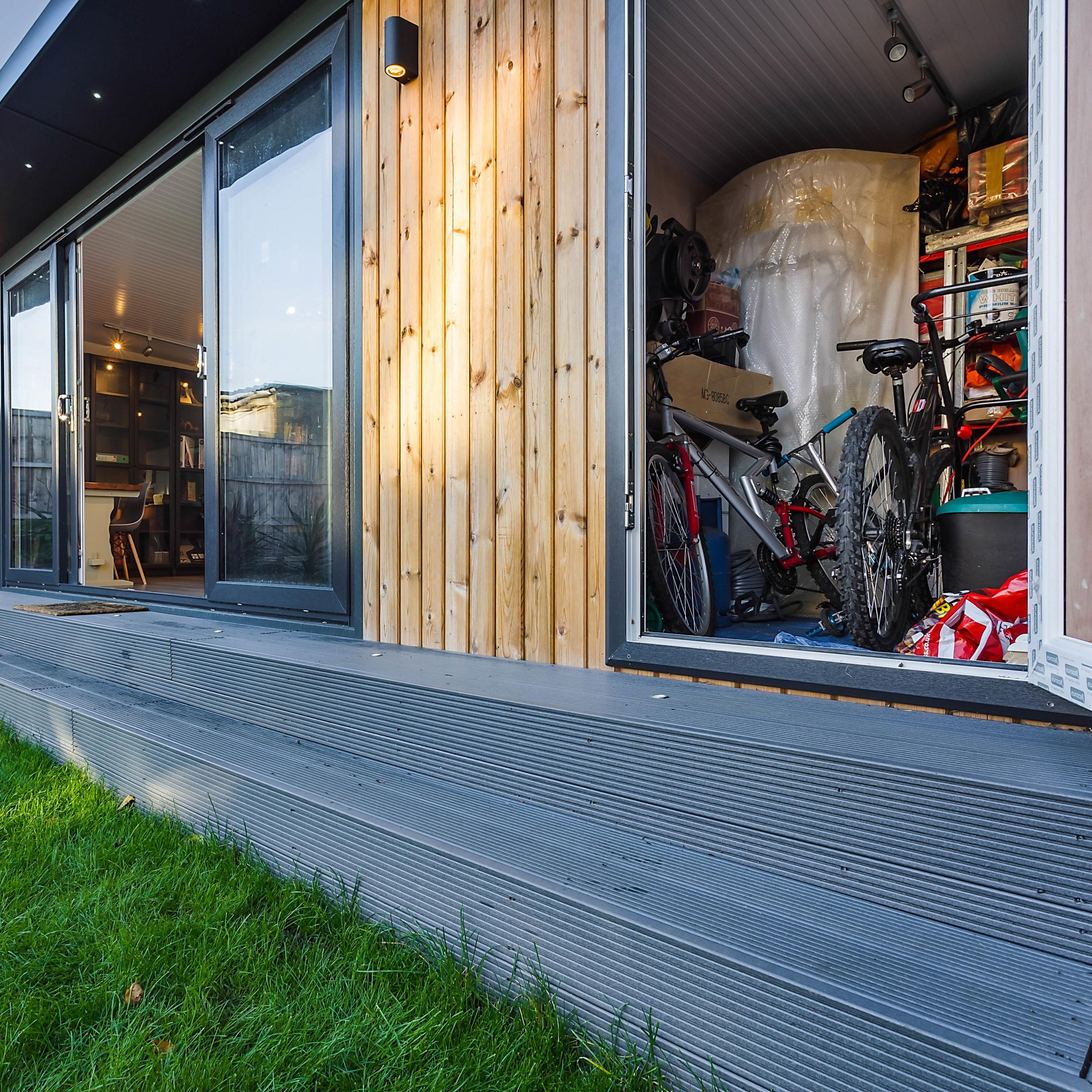 External Door for Multi-functional garden office
