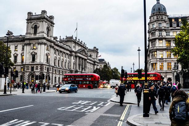 busy london roads