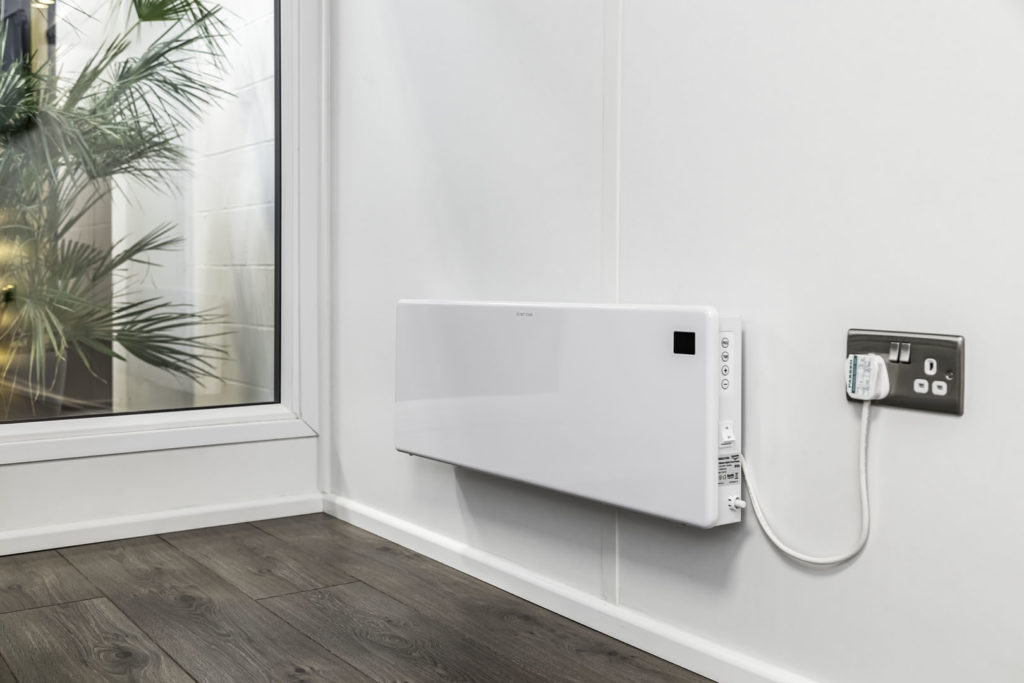 Wall mounted radiator