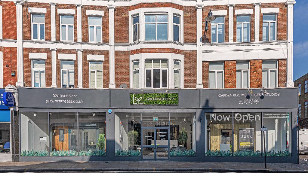 london showroom exterior