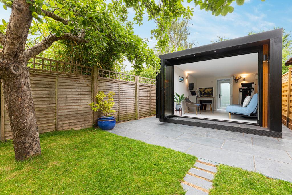 contemporary garden office pod