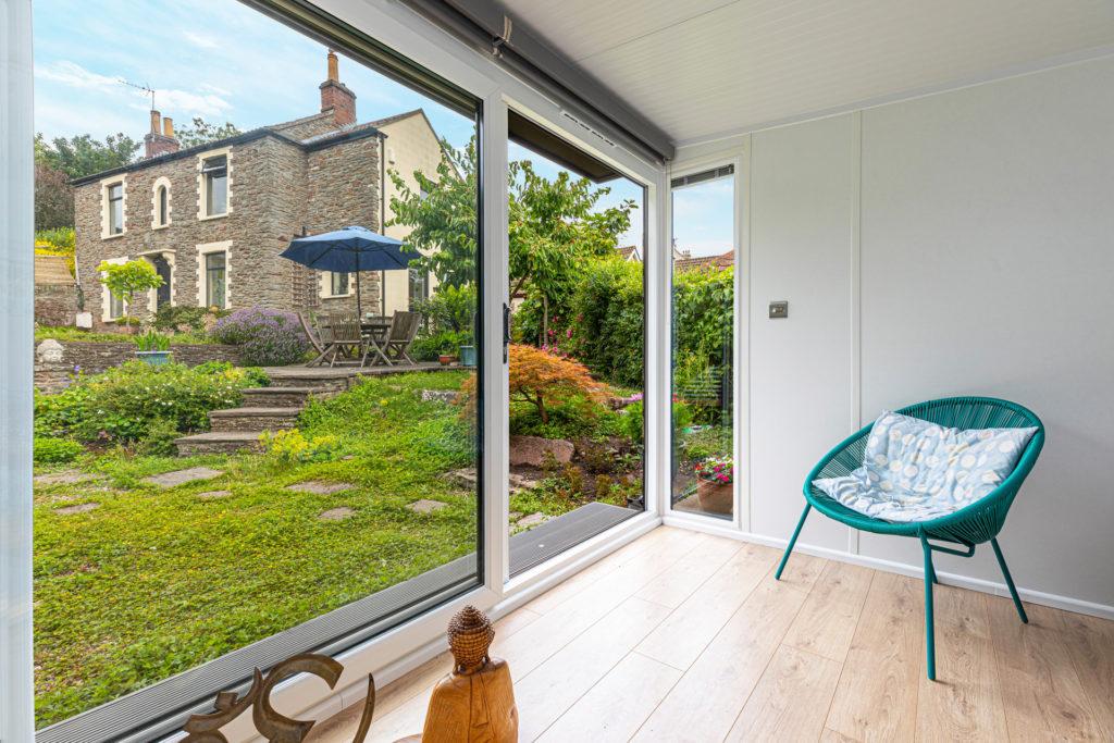 traditional English garden views