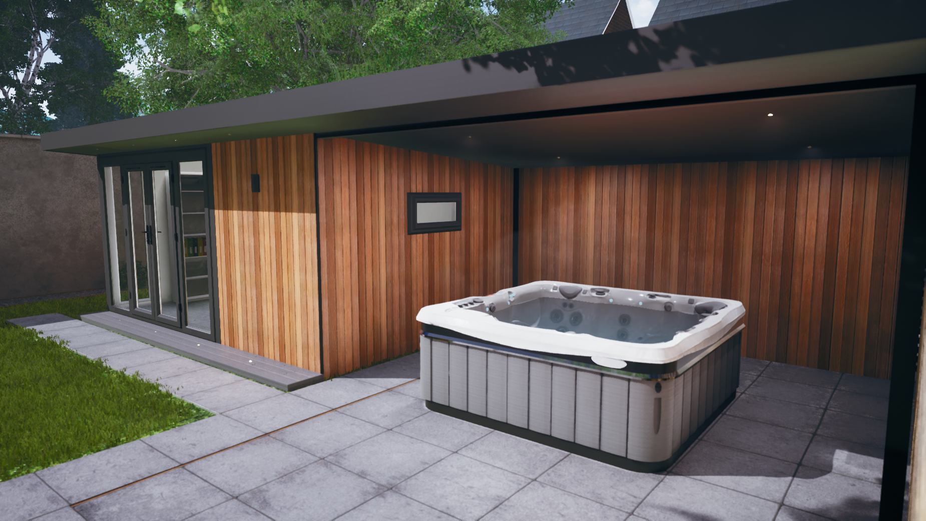 hot tub canopy