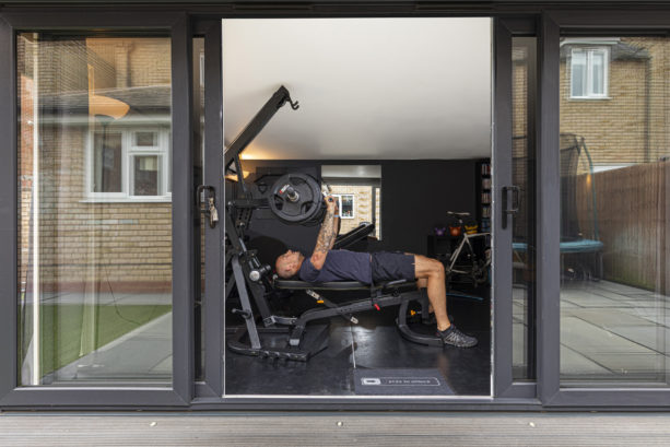 garden gym for weight lifting