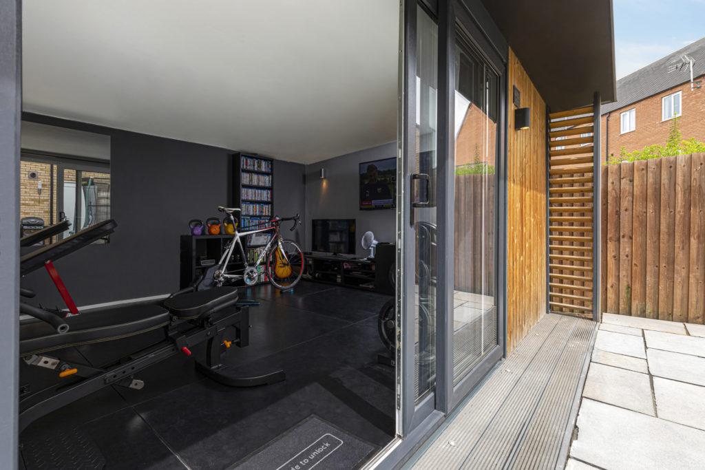 modern garden gym
