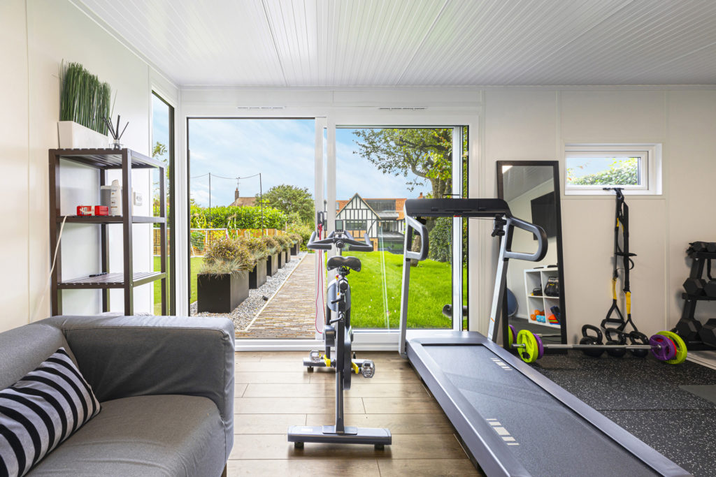 garden gym views