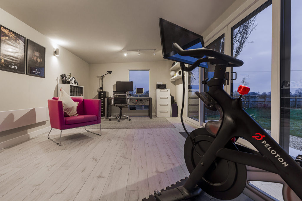 Home office and Gym combo