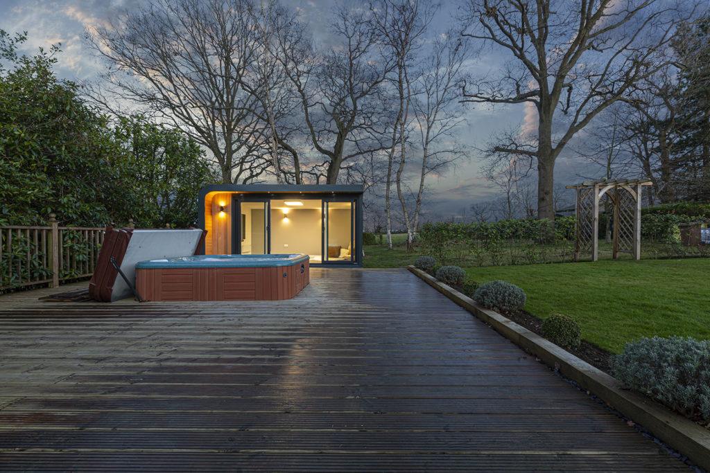 insulated garden building